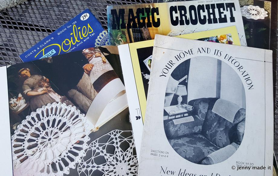 vintage crochet booklets