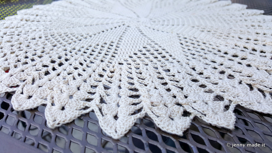 doily close up