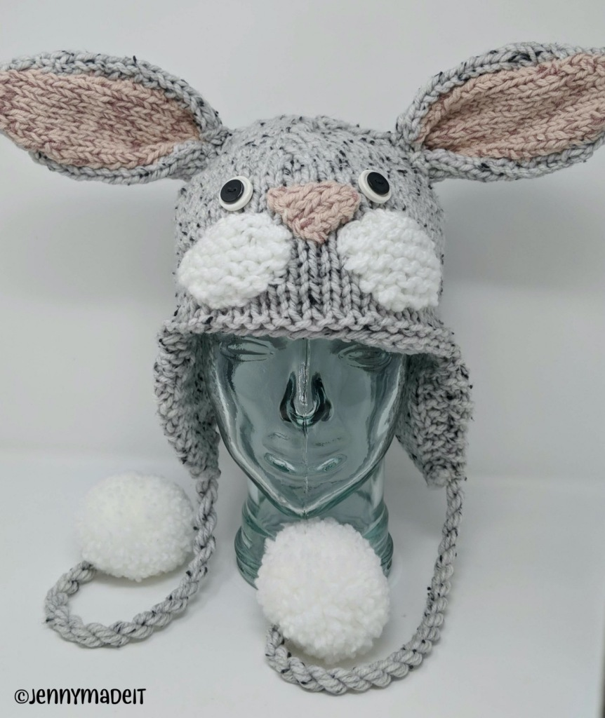 This is a photo of a rabbit hat.